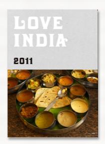 「LOVE INDIA 2011」公式本